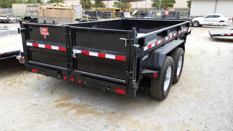 2018 PJ Trailers 83 in. Low Pro Dump (DL)