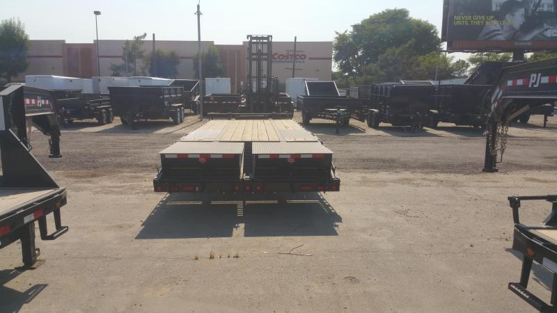 2020 PJ Trailers Low-Pro Pintle with Duals (PL) Flatbed Trailer