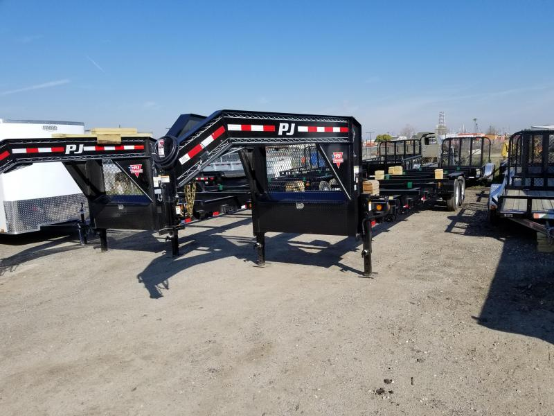 2018 PJ Trailers Pipe Hauler (PT) Flatbed Trailer