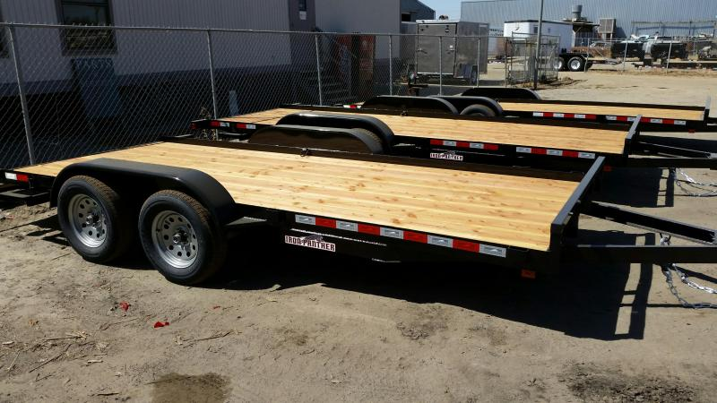 2019 Iron Panther CH094 7X20 Car / Racing Trailer