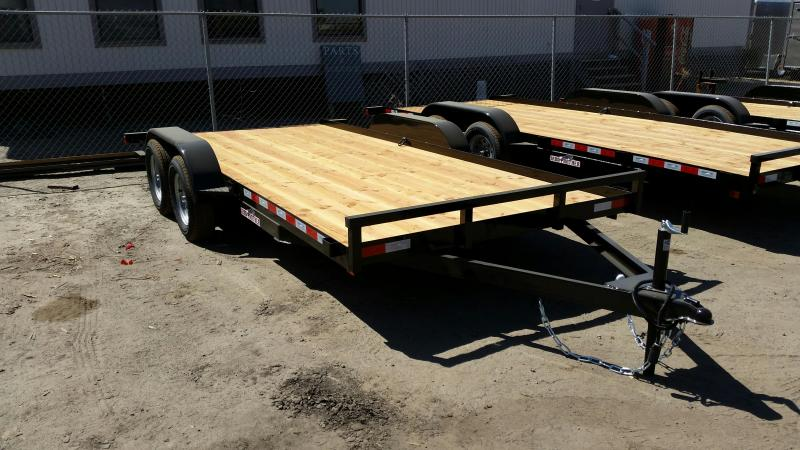 2018 Iron Panther CH030 7X16 Car / Racing Trailer