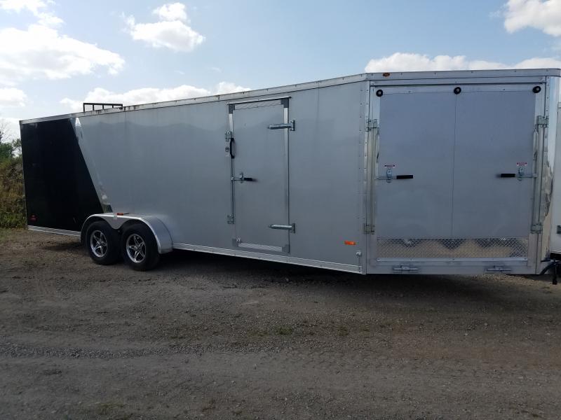 2015 RC Trailers Aluminum/Snow 7x27 Enclosed Cargo Trailer