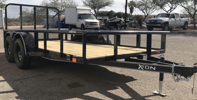 2019 X-On 77x14 T/A Utility Trailer