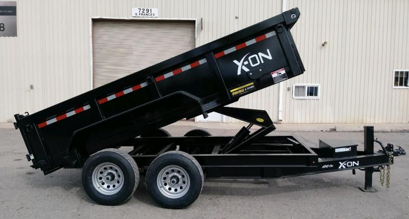 2019 X-On 77x12 10.4k Dump Trailer