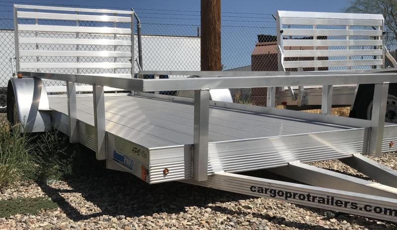 2017 Cargo Pro 66x14 S/A Utility Trailer