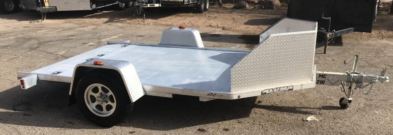 2014 Aluma Used MC210 Motorcycle Trailer
