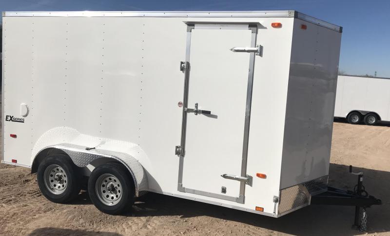 2019 Cargo Express 7x14 EXV Enclosed Cargo Trailer