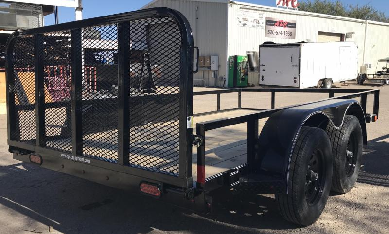 2019 X-On 77x12 T/A Utility Trailer