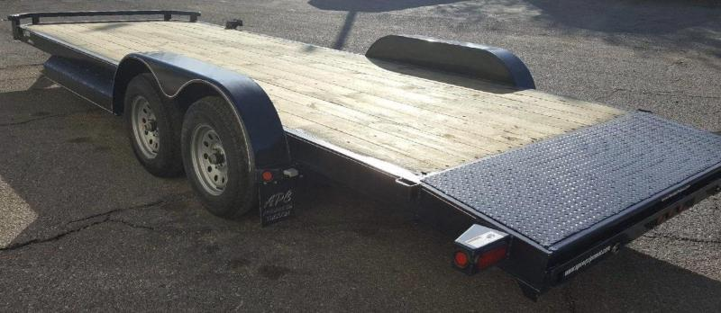 2018 Top Hat 83x20 DCH Flatbed Trailer