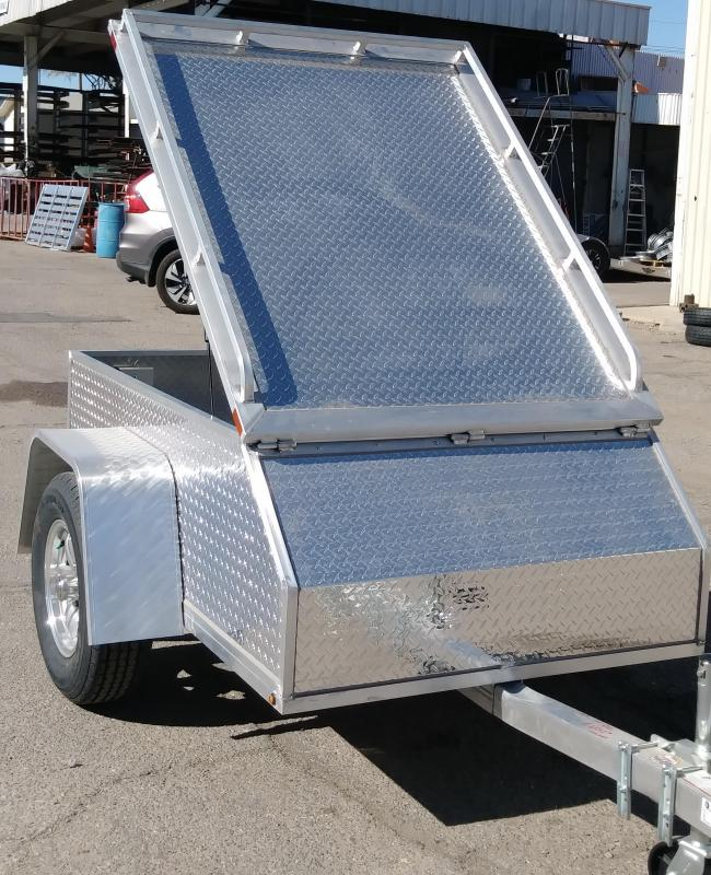2019 Aluma AE46 Aluminum Enclosed Cargo Trailer