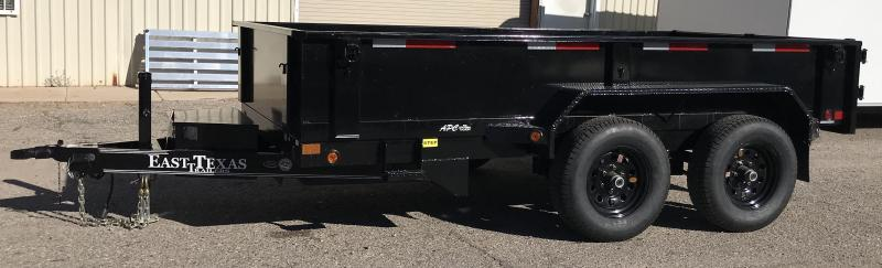 2018 East Texas 6x12 10.4k Dump Trailer