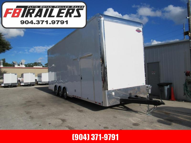 2019 30'  Eliminator Stacker Race Trailer by Cargo Mate in Ashburn, VA