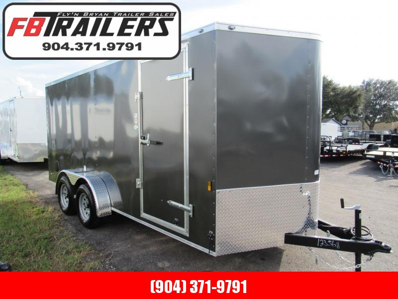 2019 Continental Cargo 7X16 Enclosed Cargo Trailer in Saint George, GA