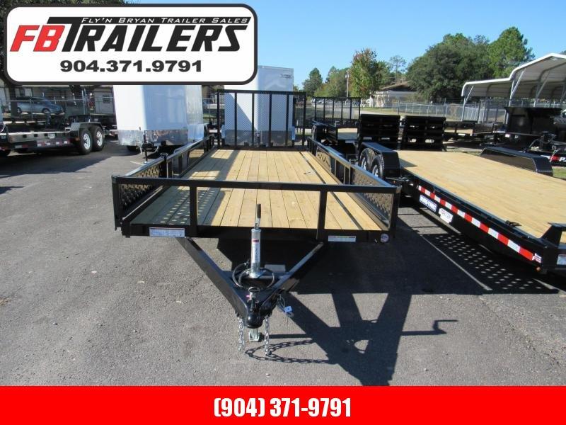 2019 Sure-Trac 7X20 ATV Sides Utility Trailer in Saint George, GA