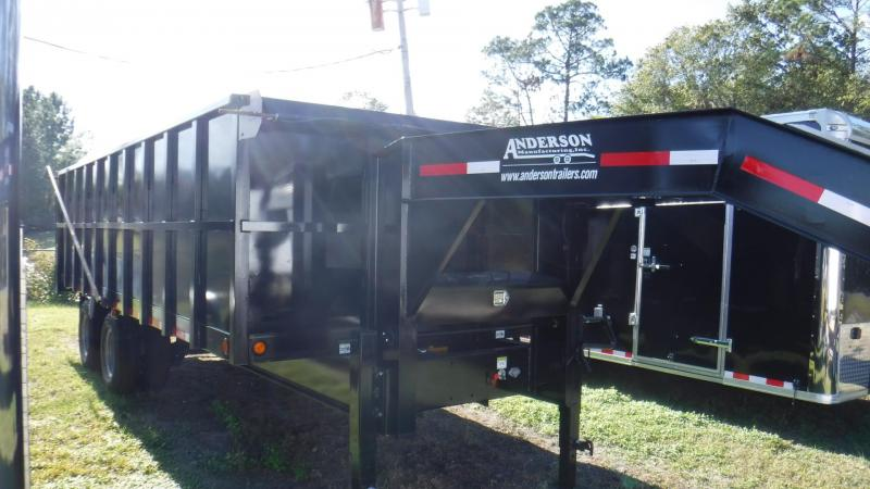 2018 8x20 Dump Trailer by Anderson Manufacturing