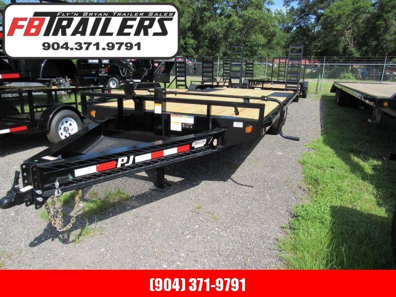 2019 22' i-beam deckover equipment trailer