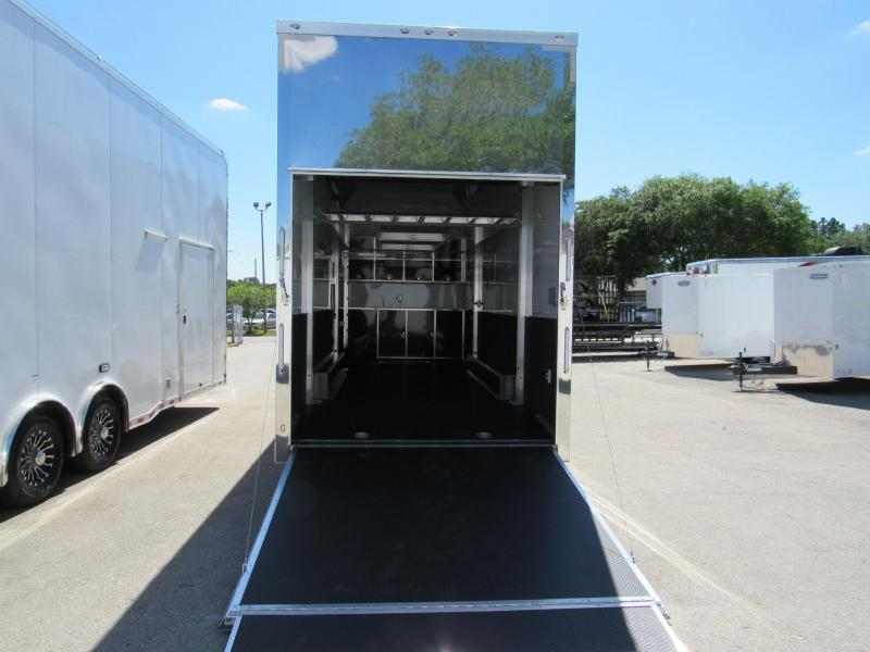 2019 ATC 26ft All Aluminum Stacker Car / Race Trailer (Only Weights