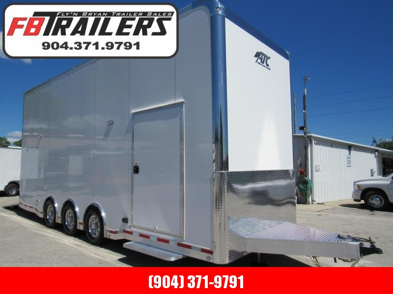 2019 ATC 26ft All Aluminum Stacker Car / Race Trailer (Only Weights 7292LBS) in Ashburn, VA