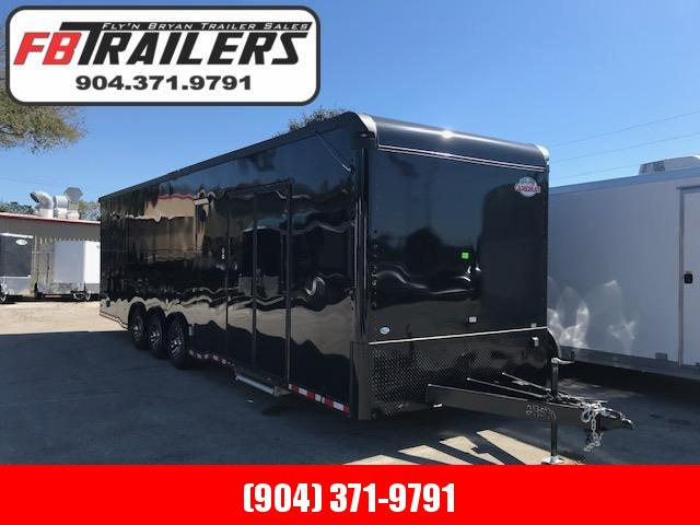 2020 32' Black Out  Eliminator Race Trailer by Cargo Mate in Ashburn, VA