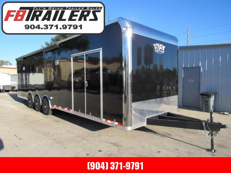 2019 32 'Pro Stock Car Race Trailer  LOADED by Vintage Trailers in Ashburn, VA