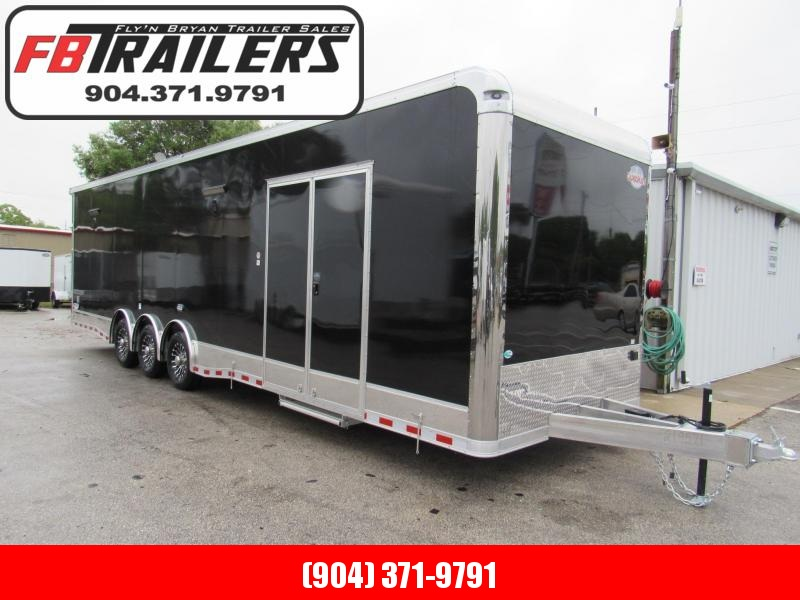 2020 32' Aluminum Frame Spread Axle Race Trailer by Cargo Mate in Ashburn, VA