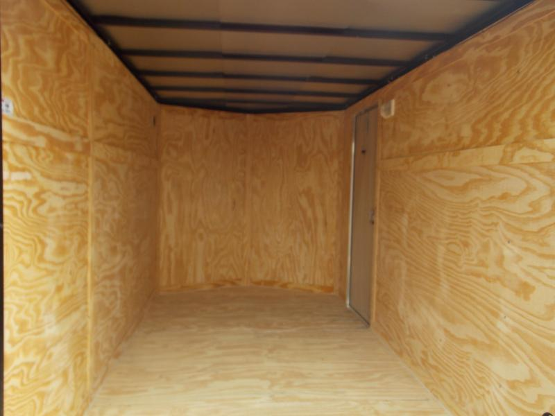 2018  6x12SA Spartan Economy Enclosed Cargo Trailer
