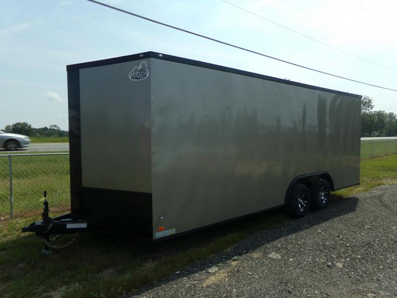 2018 Covered Wagon Trailers 8.5x20TA COVERED WAGON BLACK OUT Enclosed Cargo Trailer in Ashburn, VA