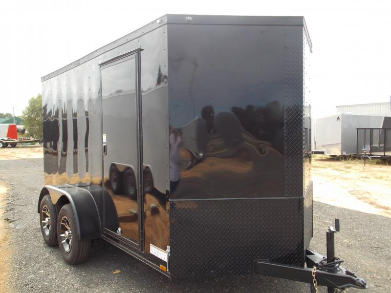2018  6X12TA Spartan Platinum Enclosed Cargo Trailer w/ Black Out Package