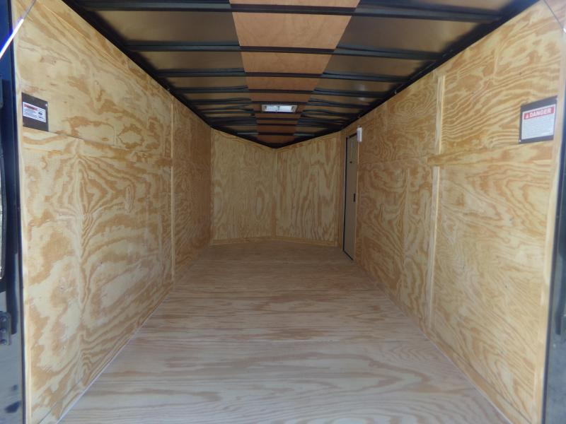 2018 Spartan 2017 7X16TA SPARTAN BLACK OUT PKG Enclosed Cargo Trailer