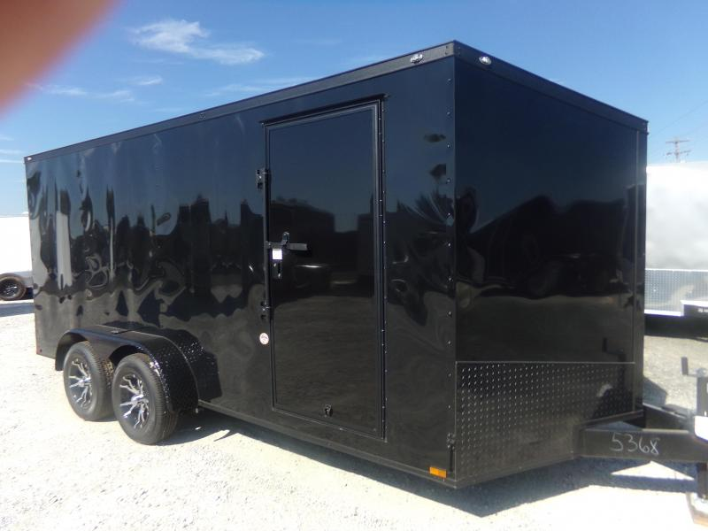 2018 Spartan 2017 7X16TA SPARTAN BLACK OUT PKG Enclosed Cargo Trailer