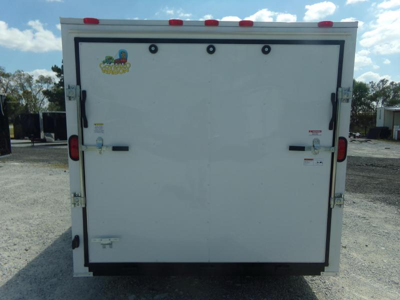 2018 Covered Wagon Trailers 7X14TA FREE 1-PEICE ROOF LED LIGHTS AND ...