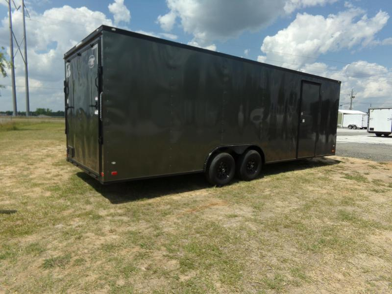 2018 Covered Wagon Trailers 15107 Enclosed Cargo Trailer