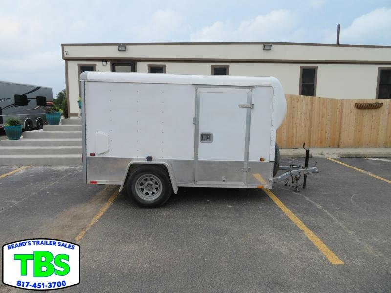 1998 5X10 Enclosed Cargo Trailer in Ashburn, VA