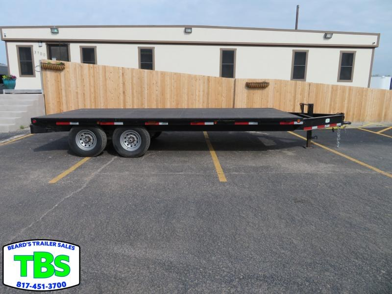 2016 102X18 Flatbed Trailer in Ashburn, VA