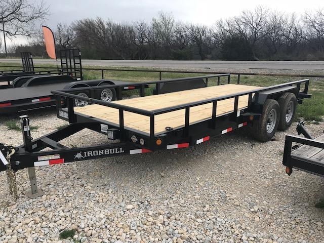 """2019 Iron Bull ETB83""""x18' Utility Trailer in Ashburn, VA"""