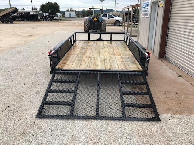 2019 Top Hat UT83X12MP Utility Trailer