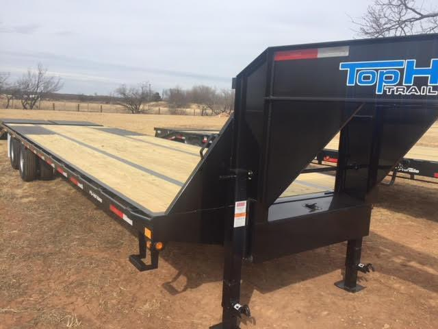 2019 Top Hat GN240HD32 Equipment Trailer