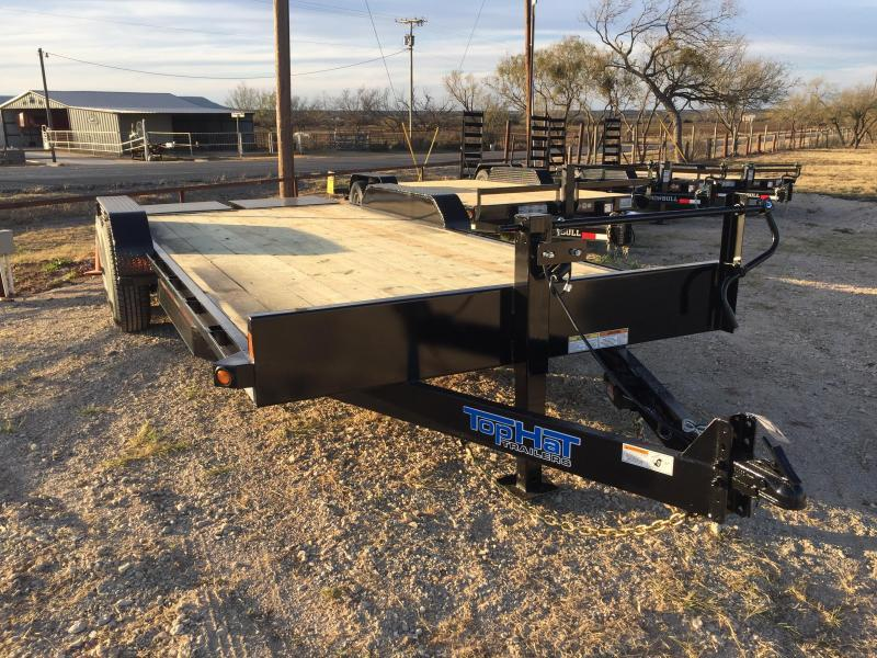 2018 Top Hat EH83X18 Equipment Trailer