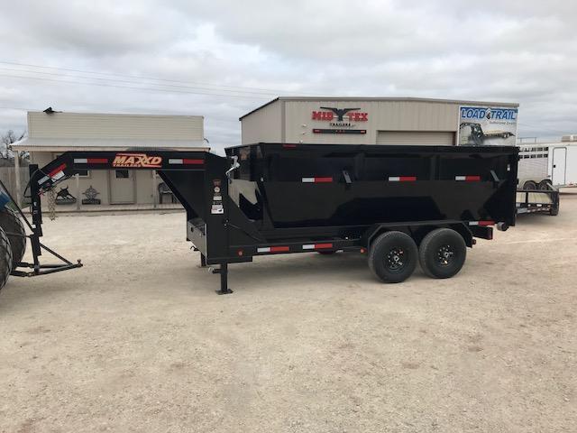 2019 MAXXD 14K ROLL OFF Dump Trailer in Ashburn, VA