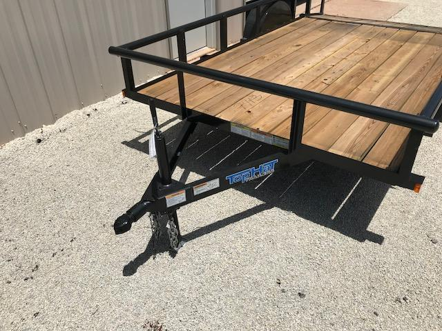 2018 Top Hat 77X12DSP Utility Trailer