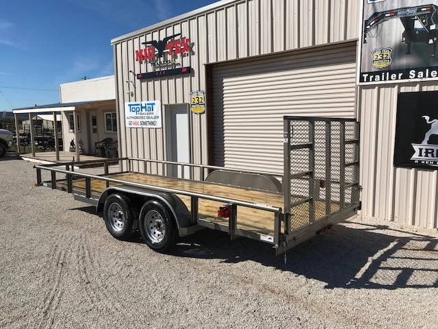 2019 Top Hat 83X18MP Utility Trailer