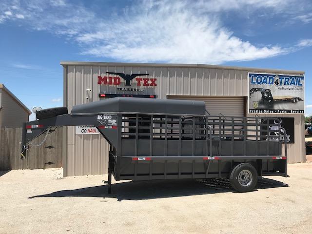 2019 Big Bend 6X16 GOOSENECK Livestock Trailer in Ashburn, VA