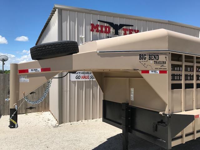 "2019 Big Bend 6'8""X24' Gooseneck Livestock Trailer"