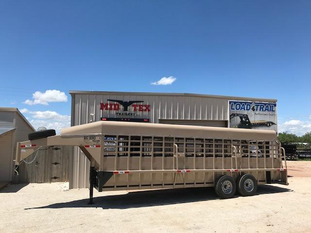 "2019 Big Bend 6'8""X24' Gooseneck Livestock Trailer in Ashburn, VA"