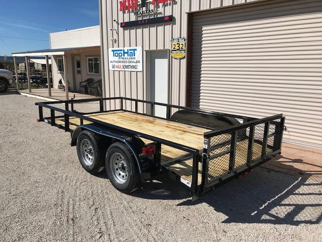 2019 Top Hat UT83X14MP Utility Trailer