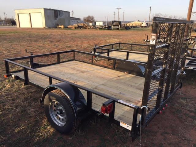 2018 Top Hat 77X10DSP Utility Trailer