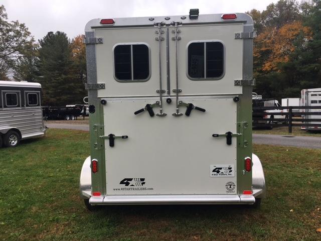 2018 4star 2 Horse Bumper Pull