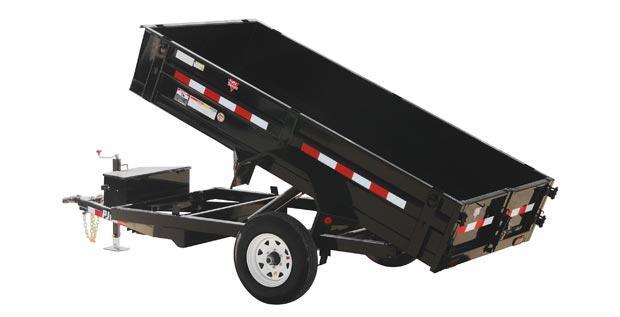 "2019 Pj 10' X 60"" Utilty Dump- Tandem Axle"