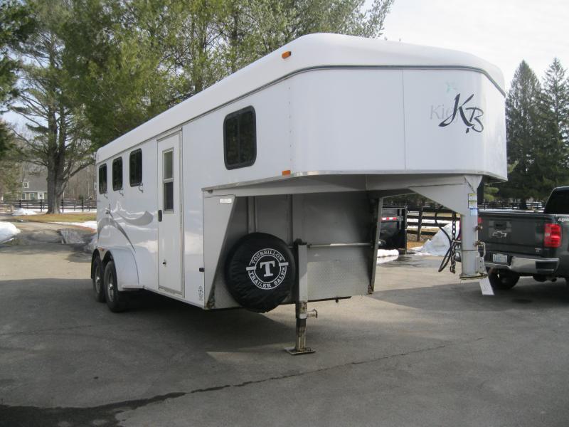 2004 Kieffer 3 Horse Goosenck Slant Load