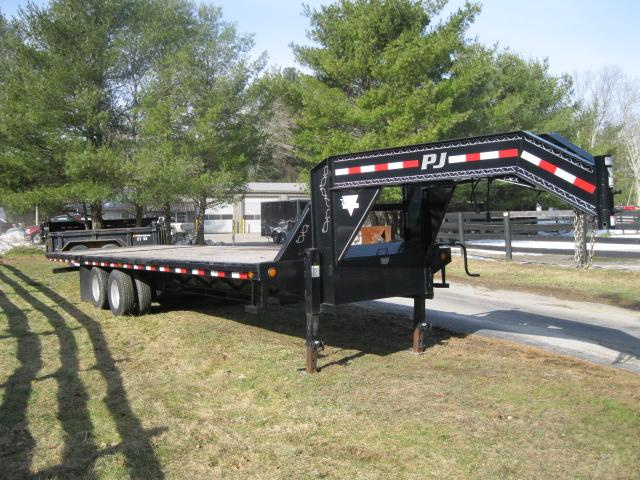 2014 Pj 30 Ft. Gn Flatdeck With Hydraulic Dove